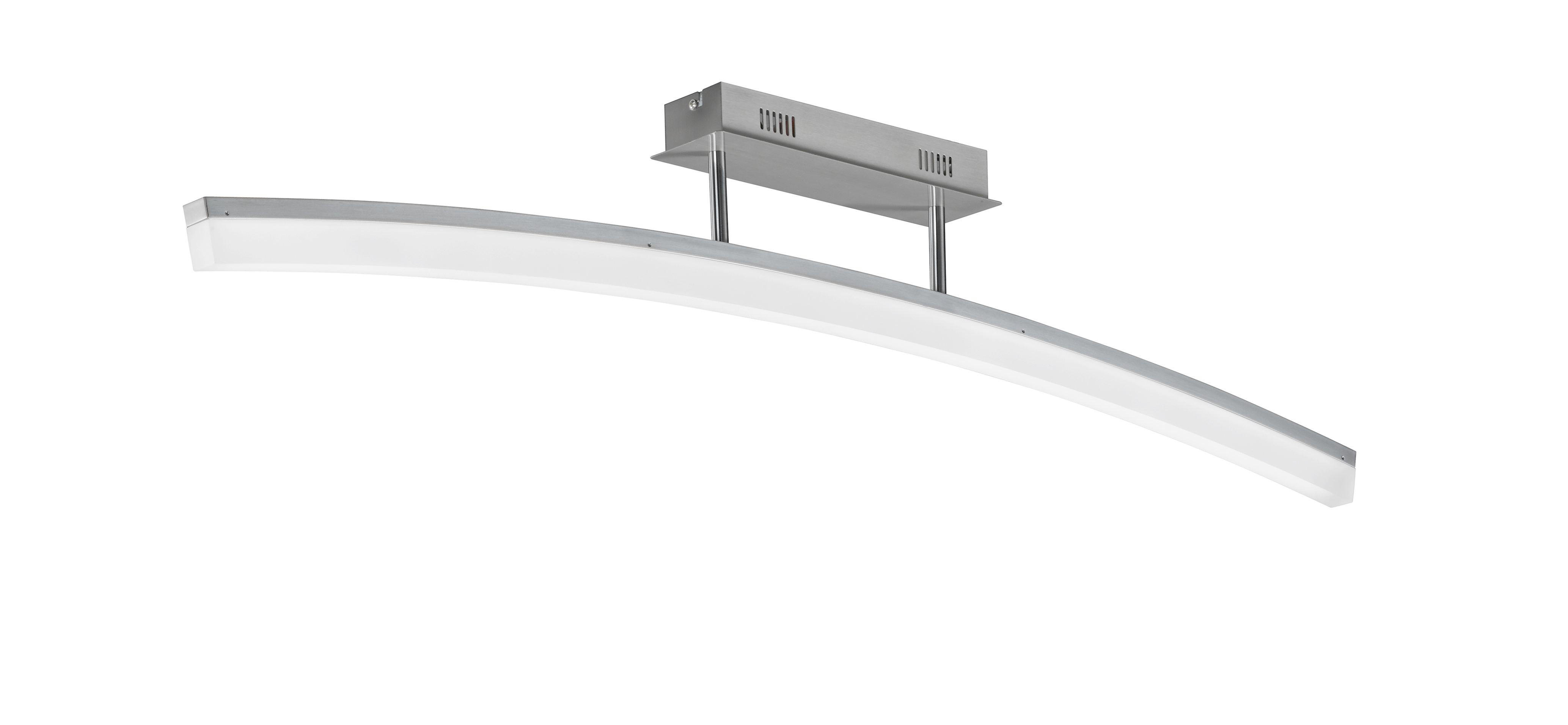 LED-DECKENLEUCHTE - Design, Kunststoff/Metall (110/21/8cm)