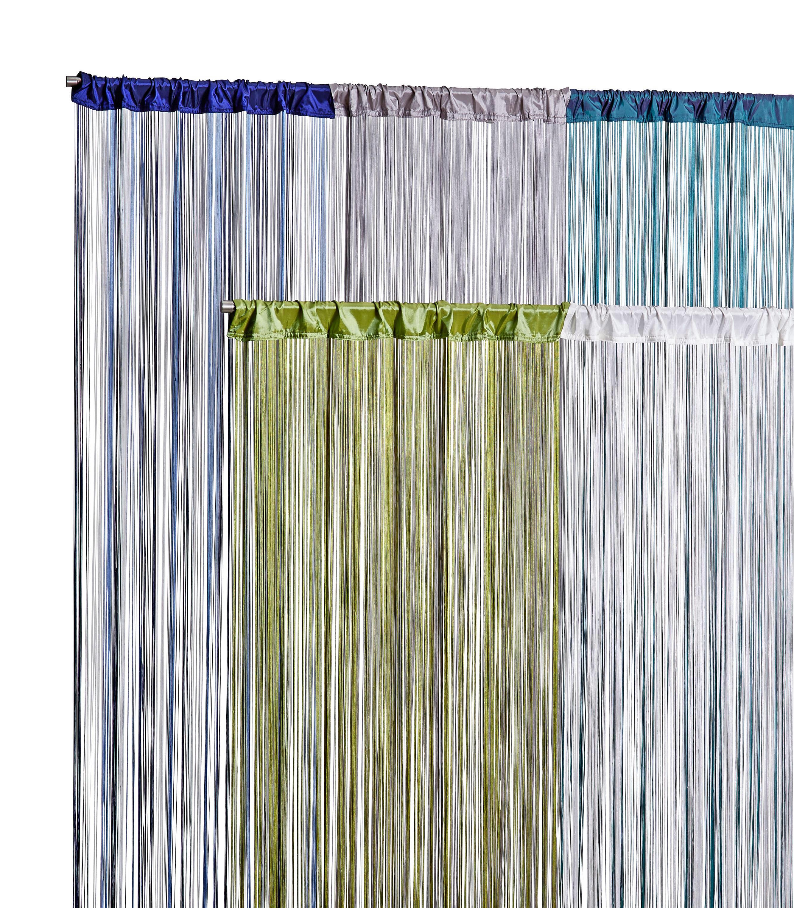 TRÅDGARDIN - naturfärgad, Klassisk, textil (90/245cm) - BOXXX
