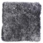 SITZKISSEN Anthrazit 34/34 cm  - Anthrazit, KONVENTIONELL, Textil/Fell (34/34cm) - Esposa