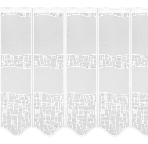 KURZGARDINE 88 cm - Weiß, LIFESTYLE, Textil (88cm) - Esposa