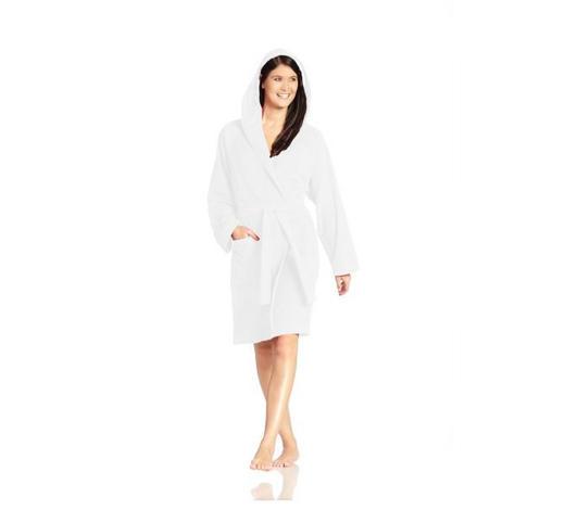 BADEMANTEL  Weiß  - Weiß, Basics, Textil (Scm) - Vossen