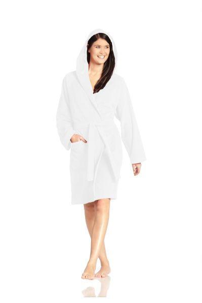 BADEMANTEL  Weiß - Weiß, Textil (L) - VOSSEN