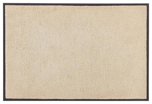FUßMATTE 50/75 cm Uni Sahara - Sahara, Basics, Kunststoff/Textil (50/75cm) - Esposa