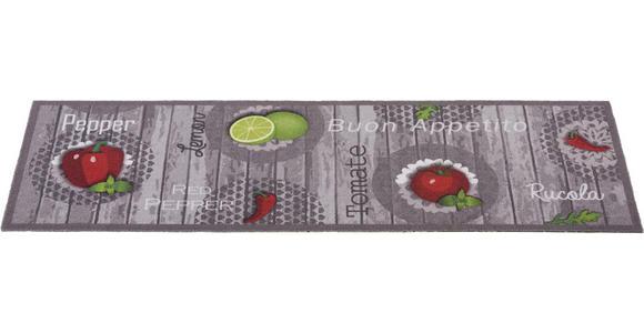 KÜCHENTEPPICH 45/100 cm  - Rot/Grau, KONVENTIONELL, Kunststoff (45/100cm) - Esposa