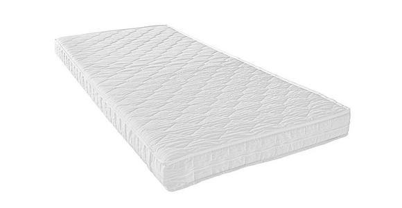 ROLLMATRATZE 140/200 cm  - Weiß, Basics, Textil (140/200cm) - Sleeptex