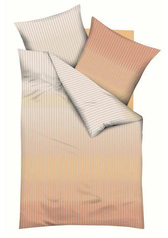 POSTELJNINA - oranžna, Konvencionalno, tekstil (140/200cm) - Kaeppel