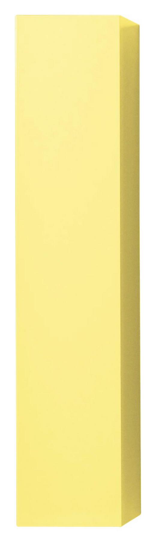 HÄNGEELEMENT in Gelb - Gelb, Design, Holzwerkstoff (139/29/31cm) - Carryhome