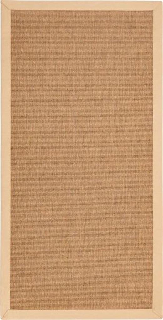FLACHWEBETEPPICH IN-/ OUTDOOR  133/190 cm  Naturfarben - Naturfarben, Textil (133/190cm) - Novel