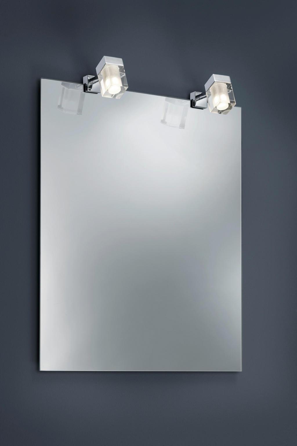 XXXL LED-STRAHLER, Silber, Weiß