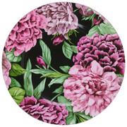 TALÍŘ - růžová/černá, Trend, umělá hmota (33cm)