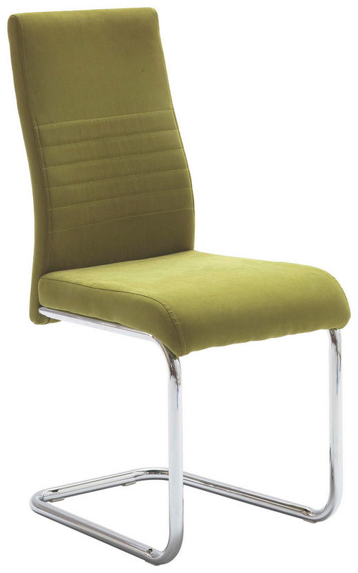 HOUPACÍ ŽIDLE, textilie, zelená, - zelená, Design, kov/textilie (43/96/59cm) - Carryhome