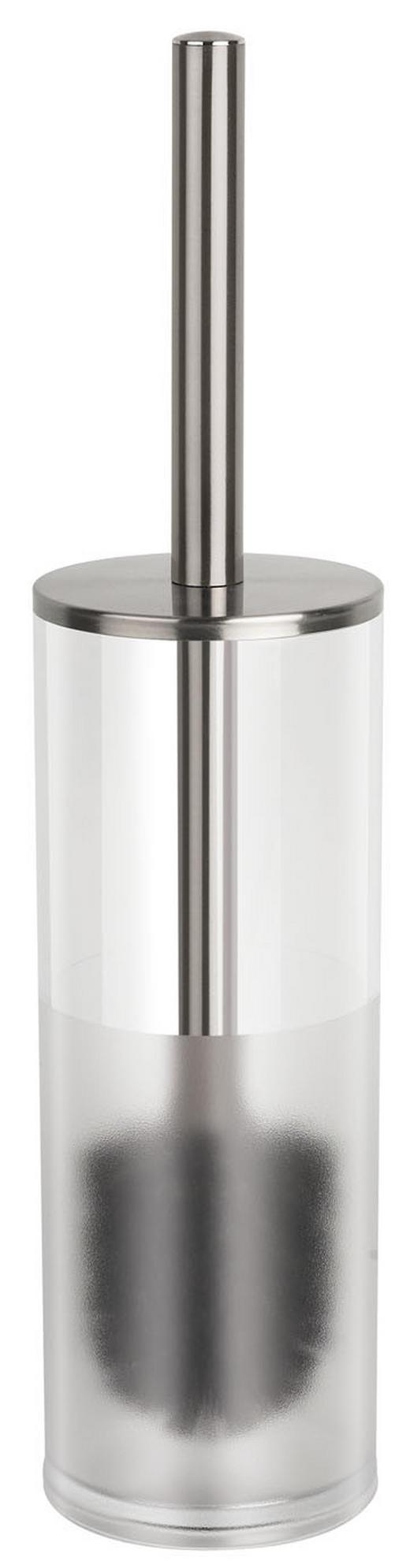 WC-BÜRSTENGARNITUR - Klar/Chromfarben, Basics, Kunststoff (9.5/40cm) - SPIRELLA