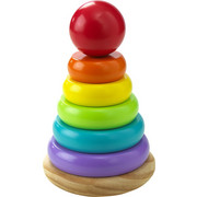 STAPELTURM - Multicolor, Basics, Holz (10/16cm) - My Baby Lou