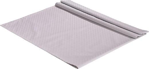 TISCHDECKE Textil Jacquard Silberfarben 135/220 cm - Silberfarben, Basics, Textil (135/220cm)