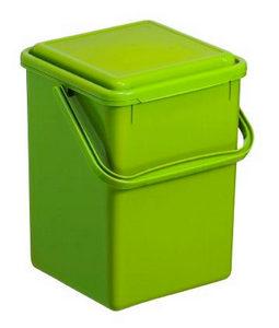 KANTA ZA SMEĆE - Zelena, Konvencionalno, Plastika (23/22,5/27,5cm) - Rotho