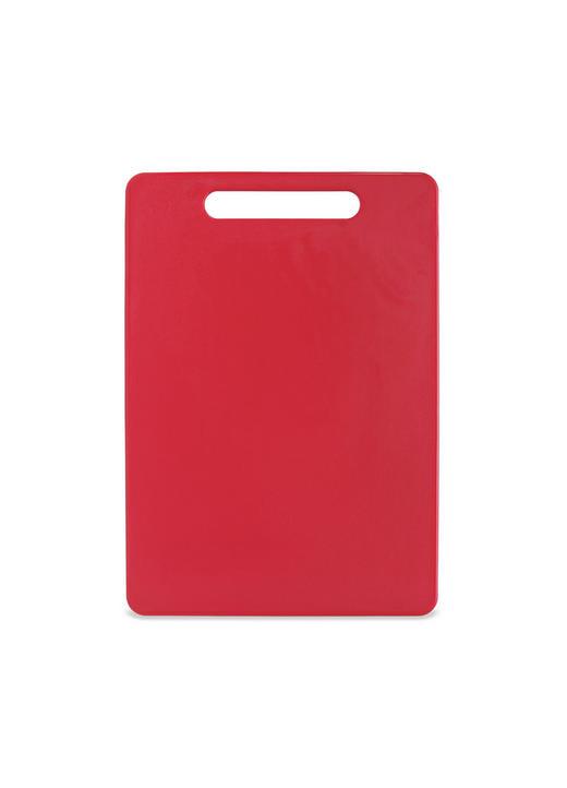 SCHNEIDEBRETT 34/24/0,6 cm - Rot, Basics, Kunststoff (34/24/0,6cm) - Homeware