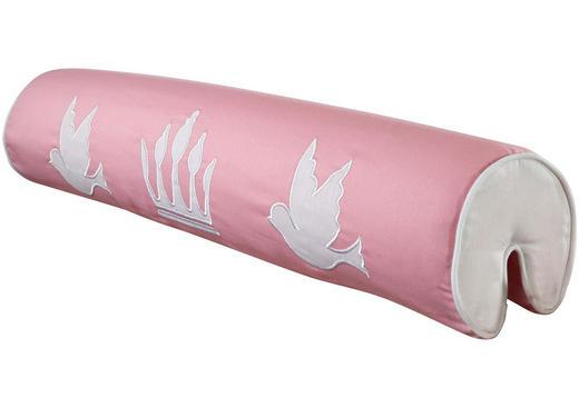 NACKENROLLE - Rosa/Weiß, Design, Textil