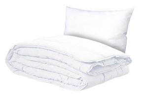 TÄCKE OCH KUDDE - vit, Basics, textil (150/210cm) - Sleeptex