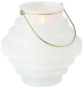 LYKTA - vit, Design, metall/glas (23/22,5cm) - Ambia Home