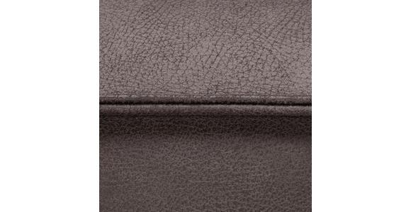 WOHNLANDSCHAFT in Textil Braun - Schwarz/Braun, ROMANTIK / LANDHAUS, Textil/Metall (283/230cm) - Valnatura