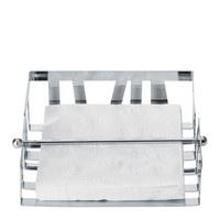 SERVIETTENHALTER - Chromfarben, Design, Metall (20/20/5cm) - Homeware