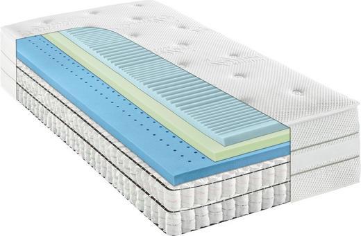 TASCHENFEDERKERNMATRATZE 90/200 cm 35 cm - Weiß, Basics, Textil (90/200cm) - Bentley