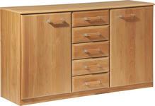 KOMMODE 135/78/41 cm  - Erlefarben, KONVENTIONELL, Holz/Holzwerkstoff (135/78/41cm) - Cantus