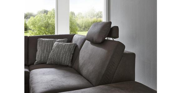 WOHNLANDSCHAFT in Textil Blau  - Blau/Alufarben, Design, Textil/Metall (275/242cm) - Dieter Knoll