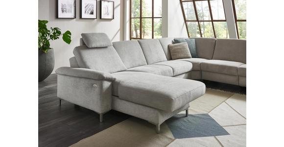 WOHNLANDSCHAFT in Textil Grau  - Alufarben/Grau, Design, Textil/Metall (170/333/265cm) - Dieter Knoll