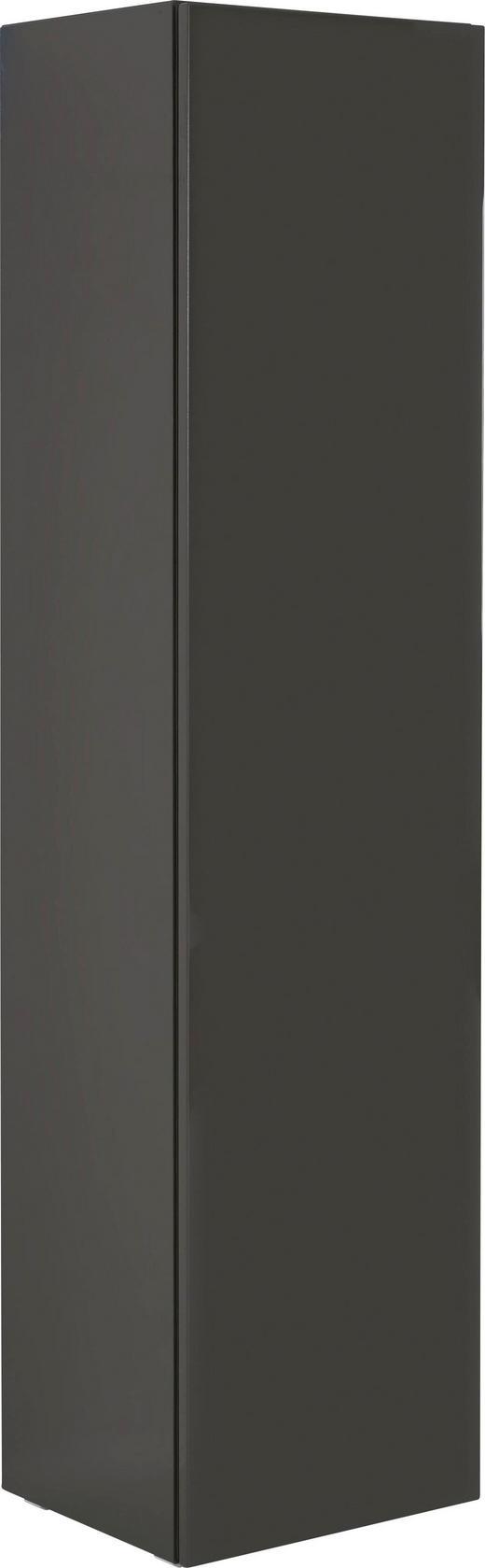 GARDEROBENSCHRANK - Grau, Design, Holzwerkstoff (52,8/213/45cm) - Hülsta