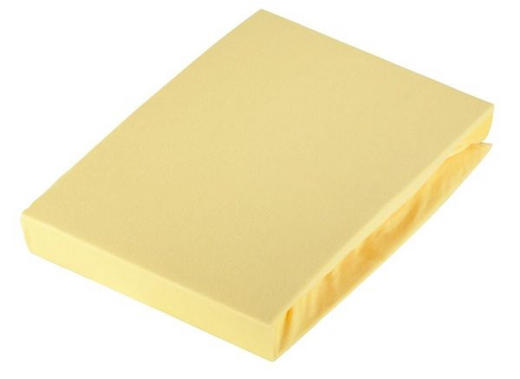 SPANNLEINTUCH - Gelb, Basics, Textil (150/200cm) - Novel