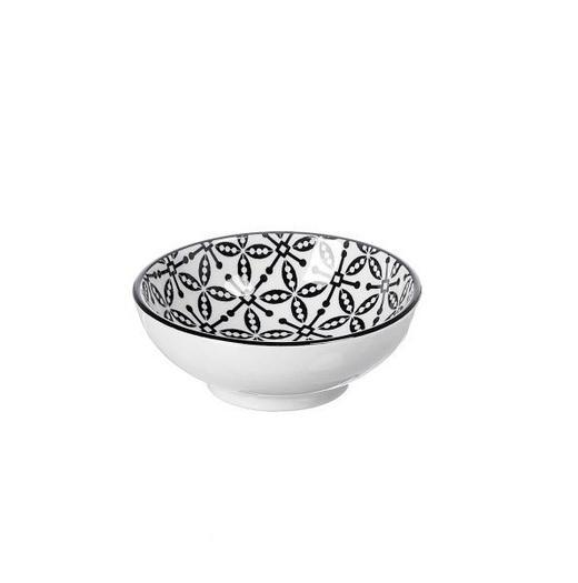 SCHALE 8 cm - Schwarz/Weiß, Trend, Keramik (8cm) - Ritzenhoff Breker