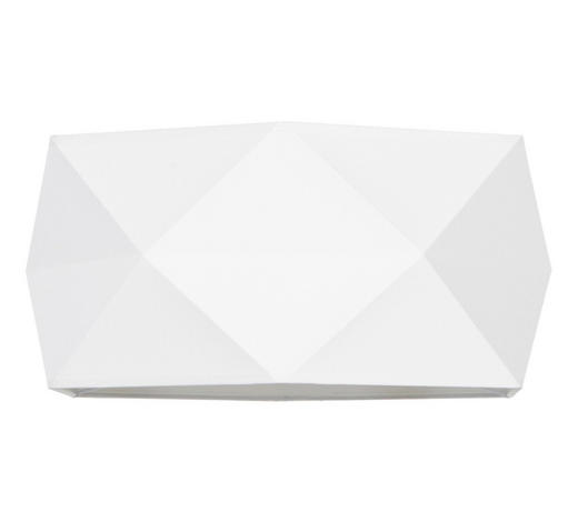 STÍNIDLO, bílá - bílá, Basics, kov/textil (46,5/23,5cm) - Marama