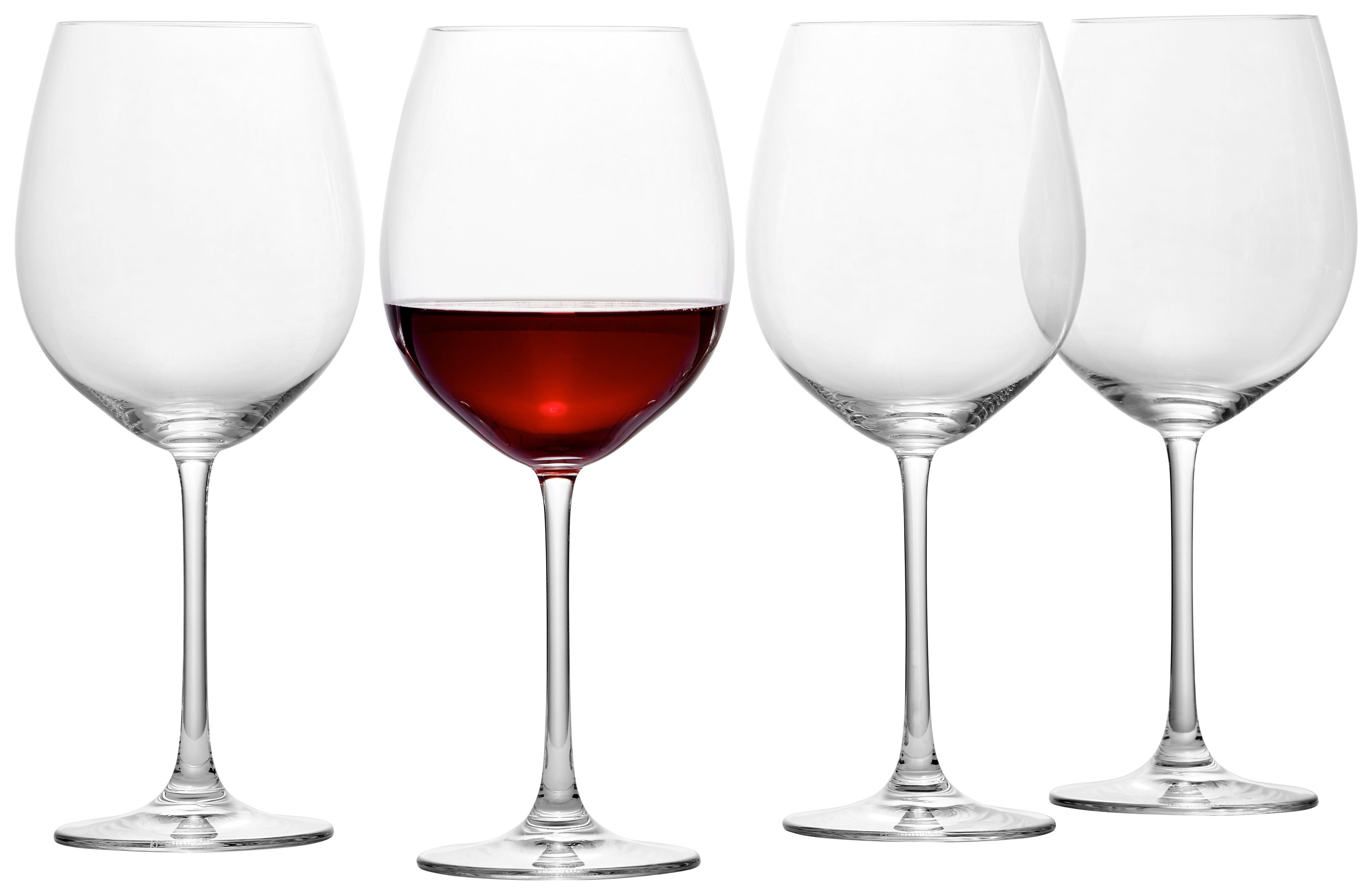 ROTWEINGLAS - Klar, Basics, Glas (24.2cm) - NACHTMANN