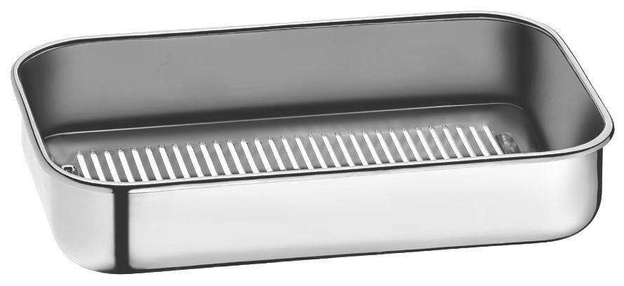 POSUDA ZA KUHANJE NA PARI - boje oplemenjenog čelika/transparentno, Konvencionalno, staklo/metal (41/27cm) - WMF