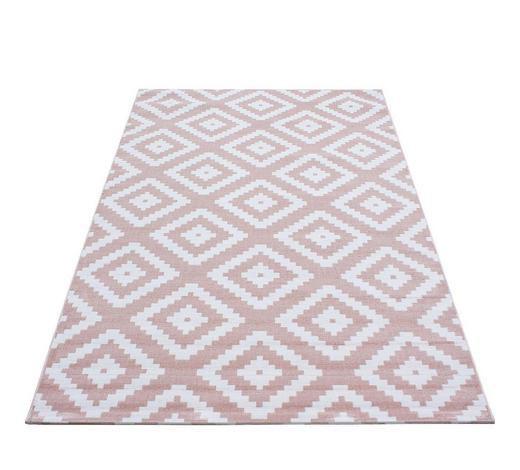 HOCHFLORTEPPICH - Pink, KONVENTIONELL, Textil (80/150cm) - Novel
