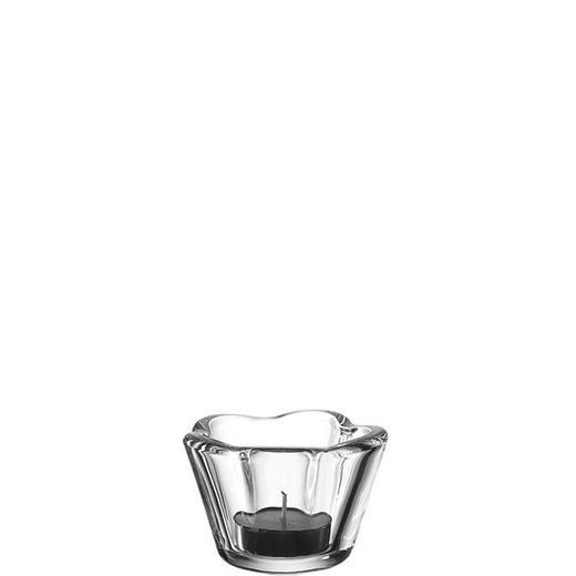 TEELICHTGLAS - Transparent, Basics, Glas (6//cm) - Leonardo