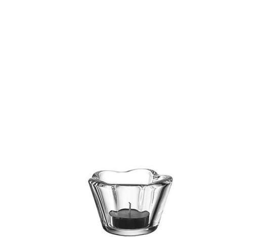 TEELICHTGLAS - Transparent, Basics, Glas (6cm) - Leonardo