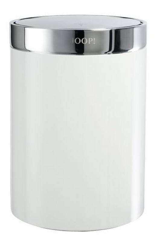SCHWINGDECKELEIMER - Silberfarben/Weiß, Basics, Metall (18/26cm) - JOOP!