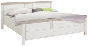 SÄNG - vit/grå, Lifestyle, träbaserade material (180/200cm) - Hom`in