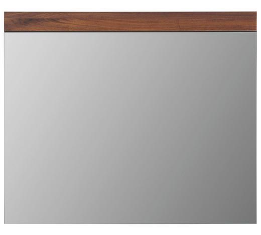 SPIEGEL Nussbaumfarben - Nussbaumfarben, Design, Holz (90/76/2cm) - Cassando