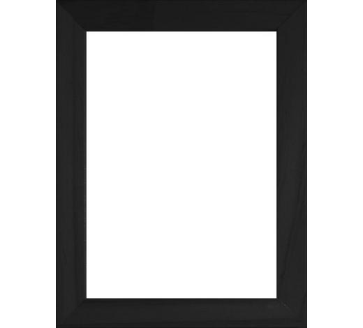 RÁM NA OBRAZY, černá - černá, Basics, umělá hmota/sklo (13/18cm)
