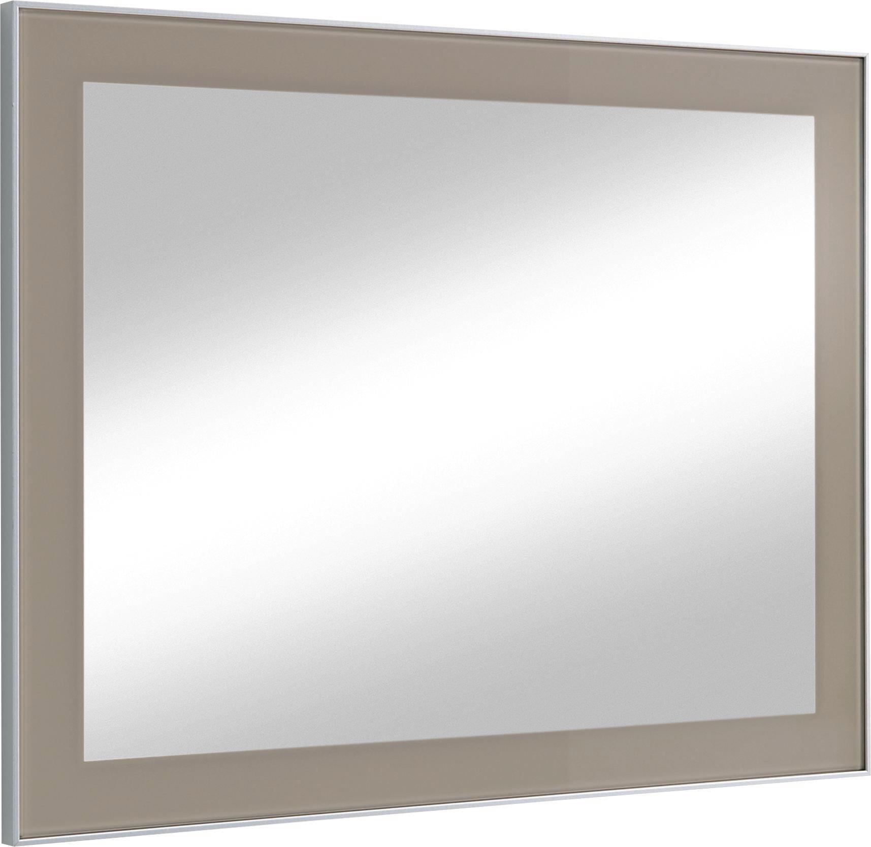 SPIEGEL - Taupe, Design, Glas (80/60/2cm) - NOVEL