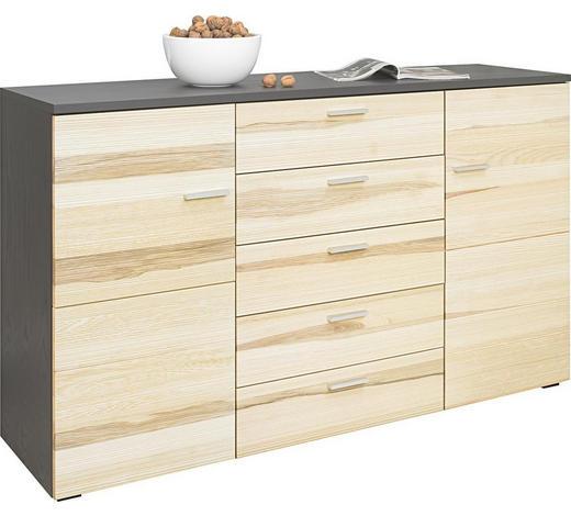 SIDEBOARD 160/96/44 cm - Eschefarben/Alufarben, KONVENTIONELL, Holz/Kunststoff (160/96/44cm) - Cantus