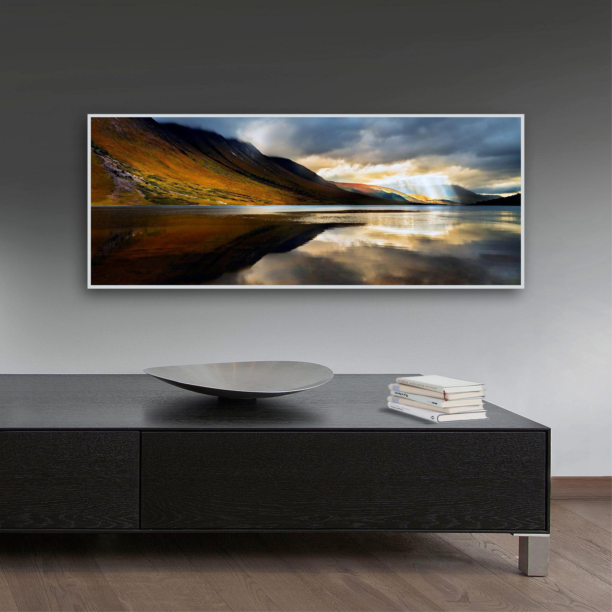 ACRYLGLASBILD - Silberfarben/Multicolor, Basics, Kunststoff/Metall (125/50/4,0cm) - EUROGRAPHICS