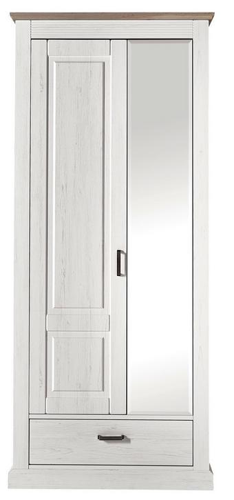 ORMAR GARDEROBNI - boje pinije/taupe, Lifestyle, drvni materijal/metal (89/206/42cm) - LANDSCAPE