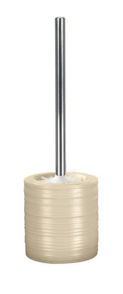 GARNITURA TOALETNE ČETKE - boje srebra/natur boje, Konvencionalno, metal/plastika (38/10,8cm) - KLEINE WOLKE