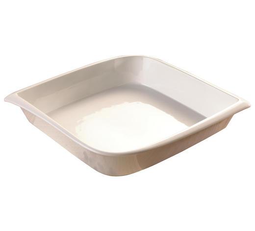 PEKÁČ,  - bílá, Basics, keramika (27,5/27,5/5,8cm) - Homeware