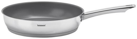 STEKPANNA - grå/rostfritt stål-färgad, Basics, metall (28cm) - HOMEWARE