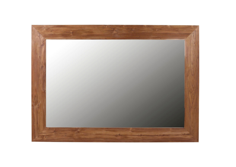 SPIEGEL  160/230/4 cm - Braun, LIFESTYLE, Glas/Holz (160/230/4cm) - CARRYHOME